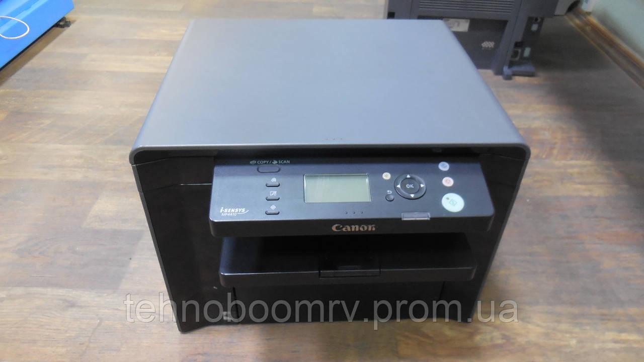 Canon i-SENSYS MF4410/3в1, МФУ / Лазер(ч/б) / 23 стр/мин/Состояние - Б
