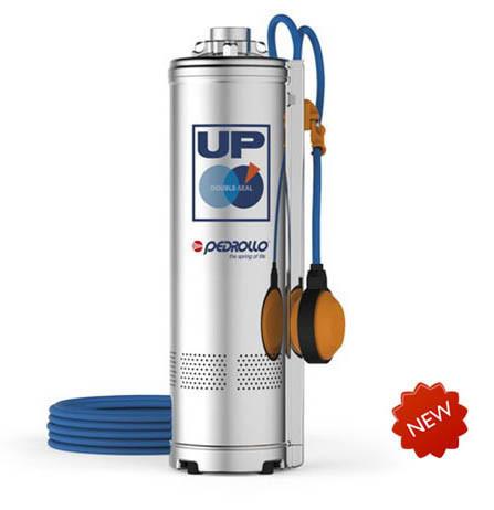 Погружной многоступенчатый насос Pedrollo UPm8/4-GE (с поплавком)