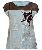 Детская футболка для девочки р 146-164 см