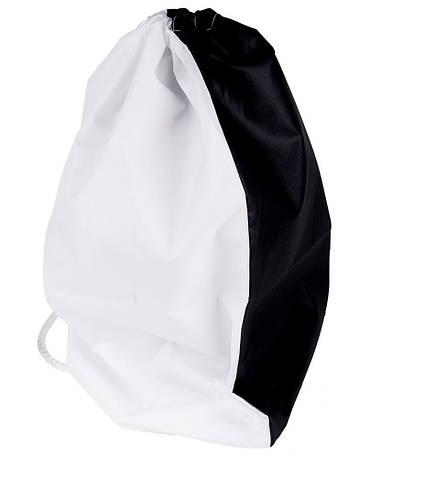 Рюкзак черный для сублимации, палаточная ткань