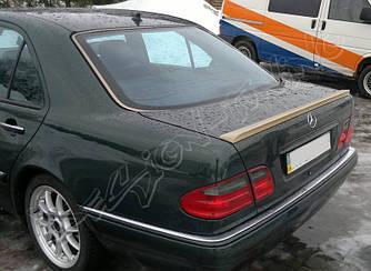 Спойлер сабля тюнинг Mercedes W210
