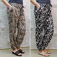 """Брючки летние женские, ШТАПЕЛЬ, ростовка от 42 до 58 р/ра. """"Tomax"""". Летние женские брюки из штапеля"""