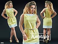 Льняное платье с тоненьким поясочком.  Цвет - морковный, беж;белый, беж;фиалка, беж;желтый, беж.
