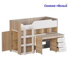 """Кровать-горка """"Чердак-2"""" с выкатным столом, фото 2"""