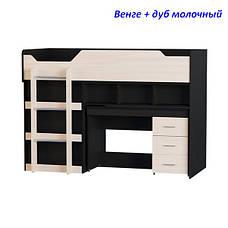 """Кровать-горка """"Чердак-2"""" с выкатным столом, фото 3"""