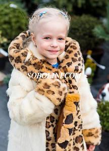 Детские 3-11 лет шубы, парки меховые