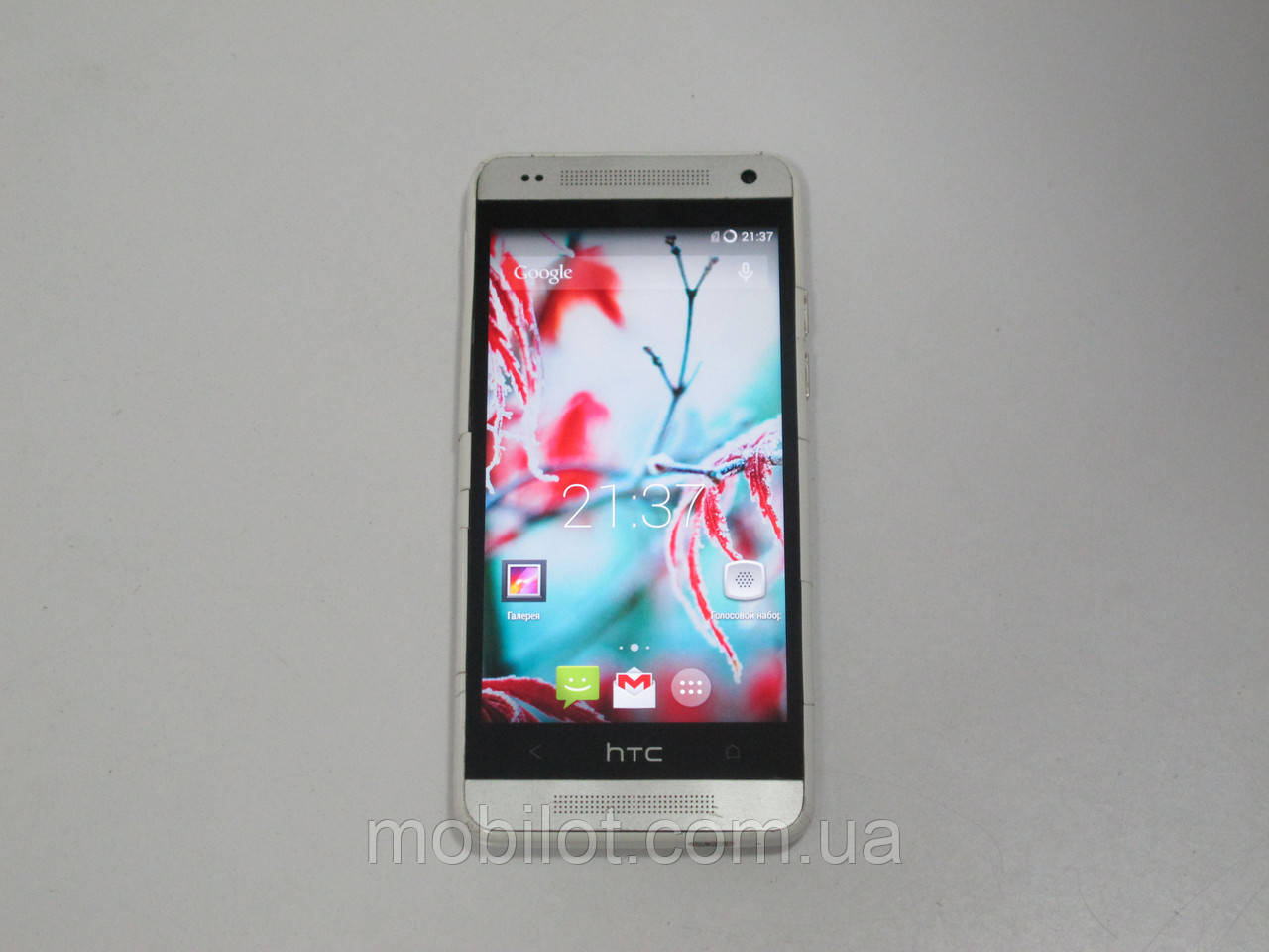 Мобильный телефон  HTC ONE MINI 601n Silver (TZ-1106)