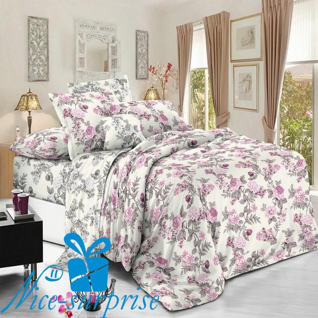 купить семейный постельный комплект из сатина в Одессе