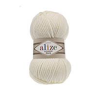 Alize lanagold plus - 01 кремовый