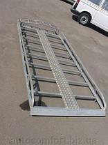 Багажник на крышу алюминий (длинная база) Renault Trafic, Opel Vivaro, Nissan Primastar , фото 3