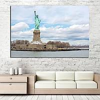 Картина -  Статуя Свободы в Нью-Йорке
