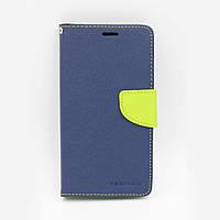 Чехол книжка для Xiaomi Redmi Note 5A Prime боковой с отсеком для визиток, Mercury GOOSPERY, Синий