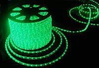 Дюралайт светодиодный LED-2WRL-13 mm зеленый уличный на деревья, фасад зданий.