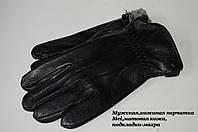 Мужская кожаная перчатка Mei