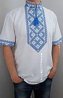 Льняная мужская вышиванка , фото 1
