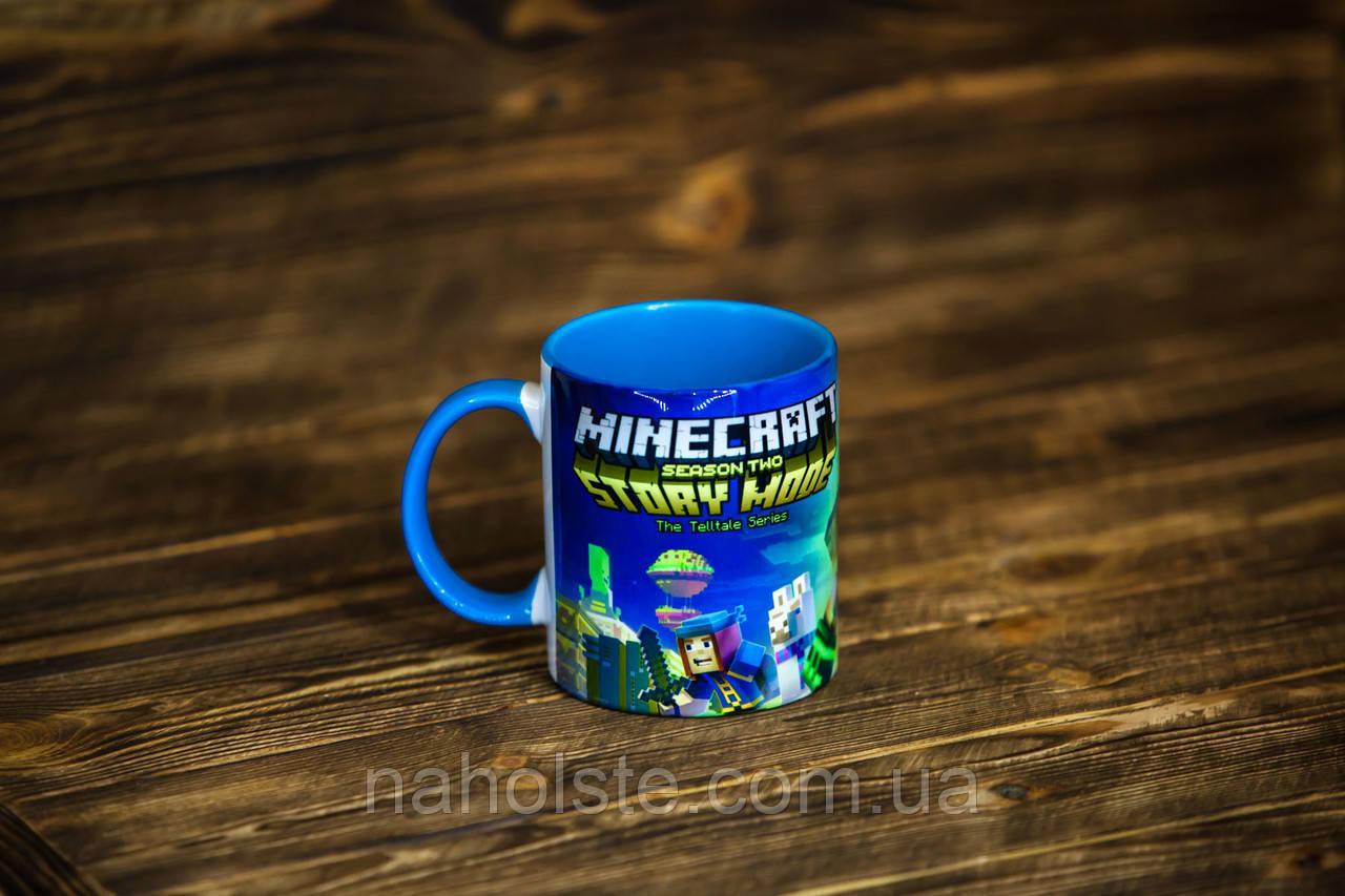 "Чашка ""Minecraft. Майнкрафт"": продажа, цена в Бердянске ..."