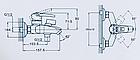 Смеситель ZEGOR (ванная) SWF3-A113 Монолит, фото 2