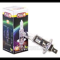 Галогенная лампа для автомобильных фар PULSO LP-11100 H1/P14.5S 12v100w clear/c/box, автомобильная лампа, лампа для авто