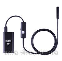 Эндоскоп wi fi. Диаметр 8 мм. Мягкий кабель (КВФ-801м) 3.5 метра