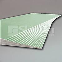 Гипсокартон Влагостойкий ГКЛВ 12,5мм 2,5м  размер: 12,5 х 1200 х2500мм, фото 1