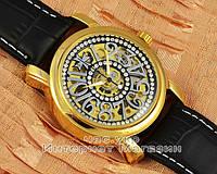 Женские наручные часы Vacheron Constantin Patrimony Lady Dimond Brown Gold реплика механика
