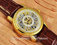 Женские наручные часы Vacheron Constantin Patrimony Lady Dimond Black Gold реплика механические, фото 1