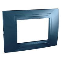 Рамка 3-мод. Голубой лед Unica Schneider, MGU4.103.54