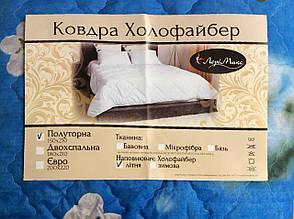 Летнее одеяло Холлофайбер 150*210 Лери Макс, фото 2