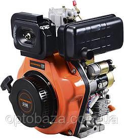 Двигатель GerrardДизельный G186E электрический старт без батареи, шпонка, вес 48 кг