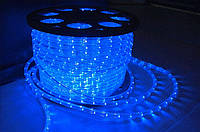 Дюралайт светодиодный LED-2WRL-13 mm синий уличный для украшения фасадов, деревьев.
