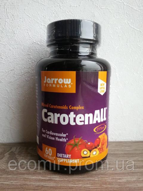Комплекс каротиноидов (Витамин А) от Jarrow Formulas (60 капсул)