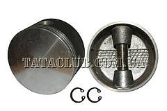 Поршень воздушного компрессора (поршень, палец стопорные кольца) TATA Motors