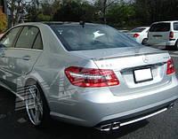 Спойлер сабля тюнинг Mercedes W212 в стиле E63 AMG