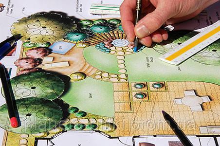 Проект ландшафтного дизайна тщательно продумывается заранее