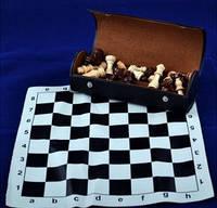 Шахматы в футляре 37х37 см (М) XLY 099