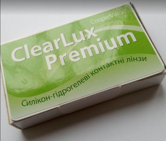 Контактні лінзи CooperVision, ClearLux Premium