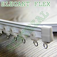 Универсальный гибкий карниз для штор Elegant Flex