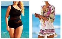 Новая поставка купальников, пляжной одежды и ковриков!