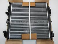 Радиатор охлаждения двигателя на Рено Кенго 1.2/1.5 dci/1.6/1.9 dti/1.9dci (480X490X34) THERMOTEC - D7R006TT