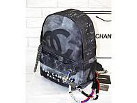 Рюкзак CHANEL Graffiti Printed Canvas Backpack (9701), фото 1