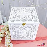 Коробка для грошей, весільна скарбниця, фото 1
