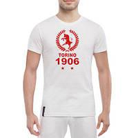 """Мужская футболка """"Torino 1906 Итальянский клуб"""""""