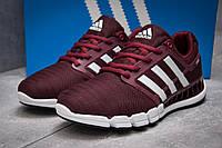 Кроссовки мужские 13402, Adidas Climacool, бордовые ( 44  ), фото 1