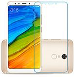 Закаленное прозрачное стекло для Xiaomi Redmi 5 Plus / полный клей /, фото 3