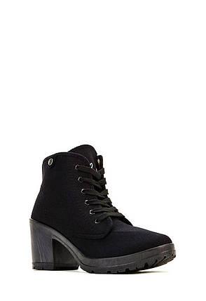Ботильоны на каблуке JustFab Womens Gerla Black, фото 2