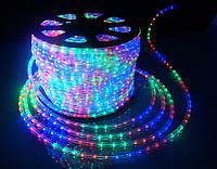 Дюралайт светодиодный LED-2WRL-13 mm мульти для улицы на деревья.