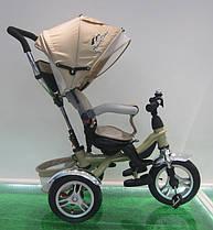 Велосипед 3-х колес складной козырек,надувные колеса 12''и 10''/1/