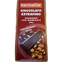 Шоколад с миндалем Ciccolato Extrafino Fondente con Mandorle 200г