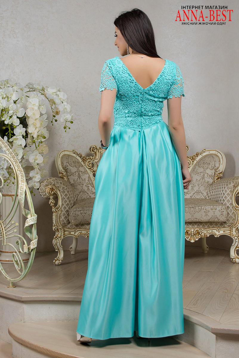 cdbec9c6356 ... Длинное мятное платье выпускное