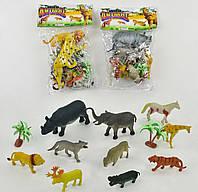 Набор диких животных, 10 шт